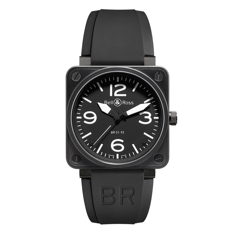 Bell and Ross BR0192-BL-CA