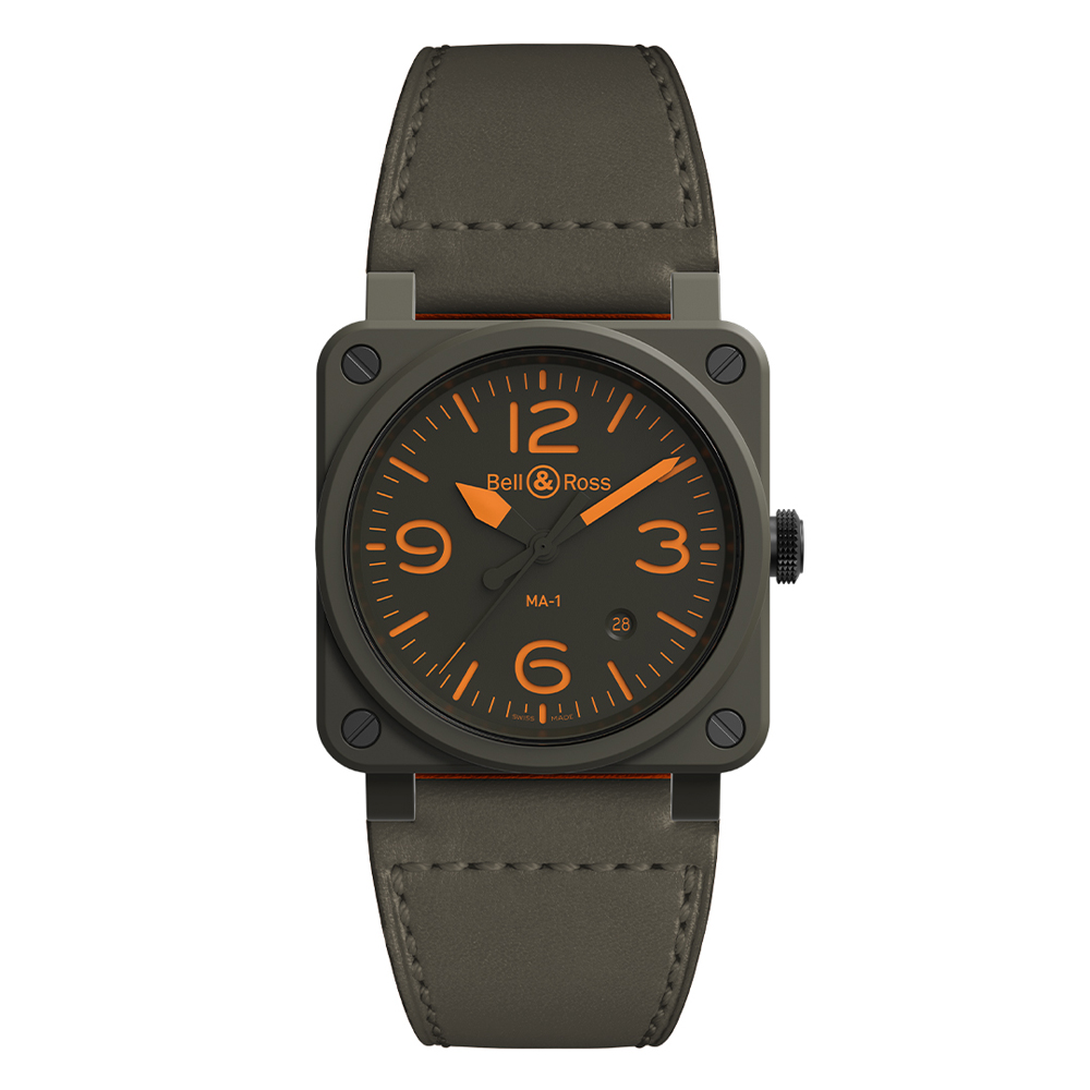 Bell and Ross BR0392-KAO-CE/SCA