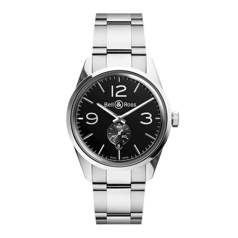 Bell and Ross BRG123-BL-ST/SST