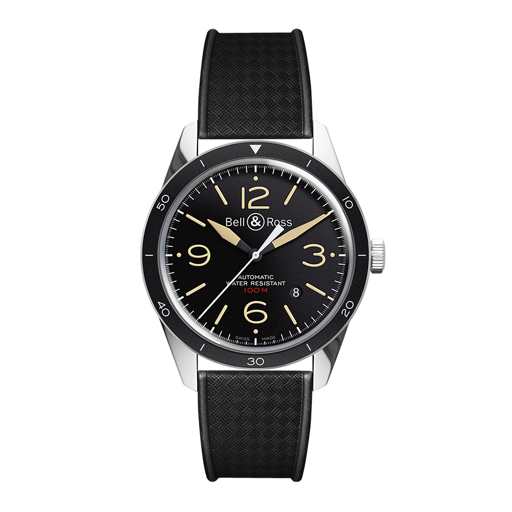 Bell and Ross BRV123-ST-HER/SRB