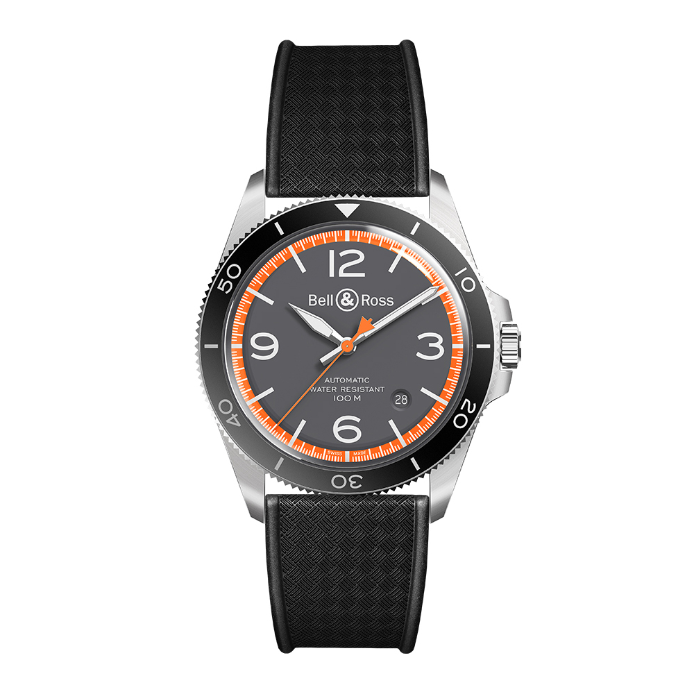 Bell and Ross BRV292-ORA-ST/SRB
