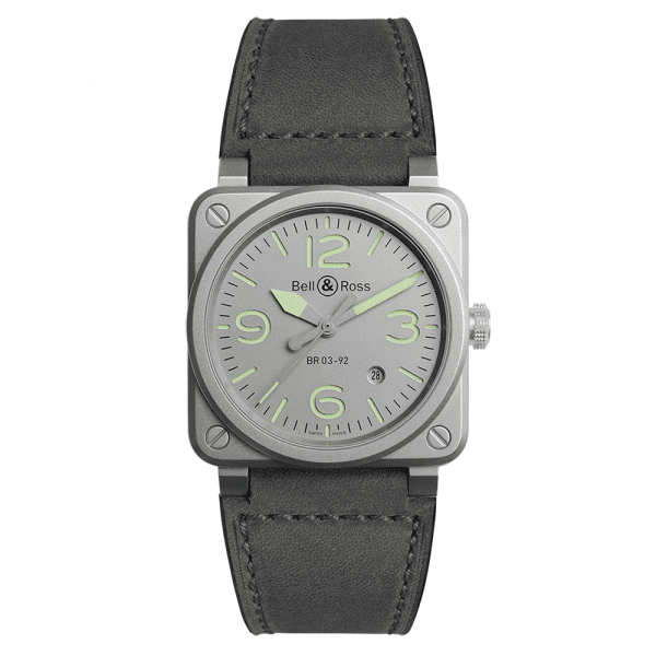 Bell and Ross BR0392-GR-ST/SCA